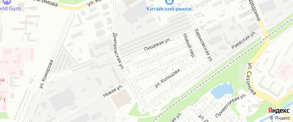 Колхозный 2-й переулок на карте Стерлитамака с номерами домов