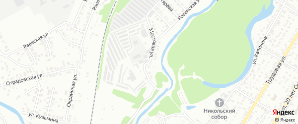 Мостовая улица на карте Стерлитамака с номерами домов