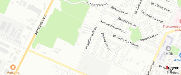 Улица Добролюбова на карте Стерлитамака с номерами домов
