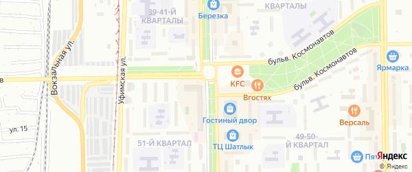 Улица Ленина на карте Салавата с номерами домов