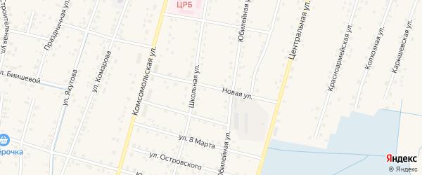 Новая улица на карте села Старобалтачево с номерами домов