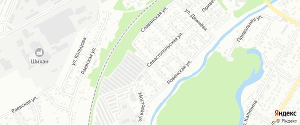 Улица Дегтярева на карте Стерлитамака с номерами домов
