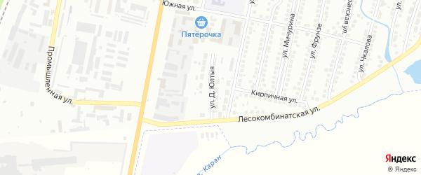 Улица Д.Юлтыя на карте Мелеуза с номерами домов