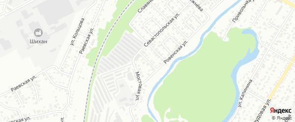 Бассейная улица на карте Стерлитамака с номерами домов