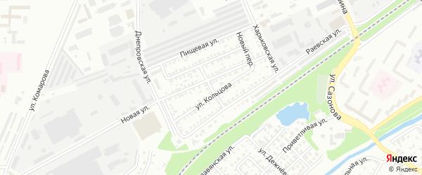 Переулок Кольцова на карте Стерлитамака с номерами домов
