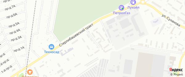 Улица Механизации на карте Стерлитамака с номерами домов
