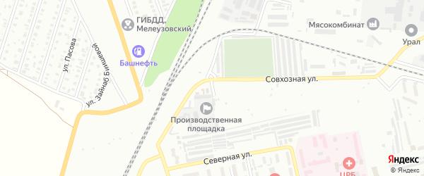 Площадь Заготсбытбазы на карте Мелеуза с номерами домов