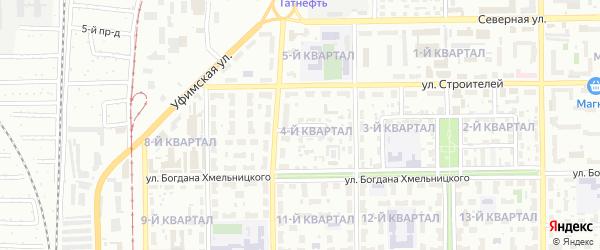 Улица Сухорукова на карте Салавата с номерами домов
