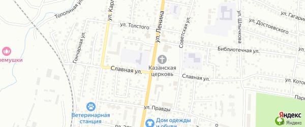Улица Ленина на карте Мелеуза с номерами домов