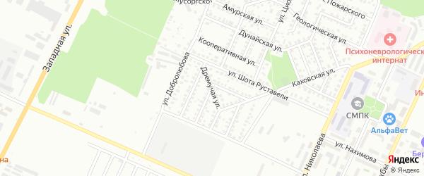 Дремучая улица на карте Стерлитамака с номерами домов