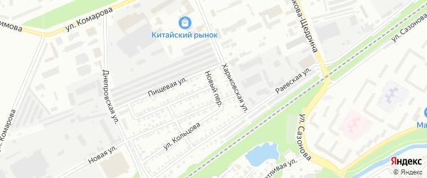 Новый переулок на карте Стерлитамака с номерами домов