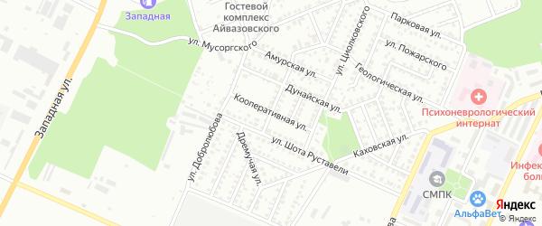 Кооперативная улица на карте Стерлитамака с номерами домов