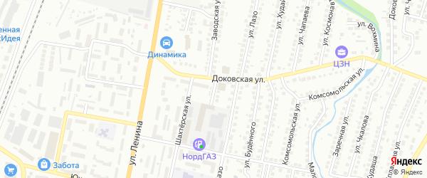 Трактовая улица на карте Мелеуза с номерами домов