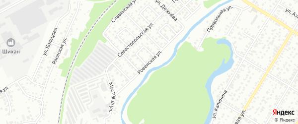 Ровенская улица на карте Стерлитамака с номерами домов