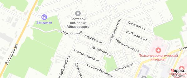 Амурская улица на карте Стерлитамака с номерами домов