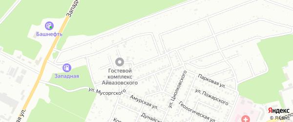 Улица Айвазовского на карте Стерлитамака с номерами домов