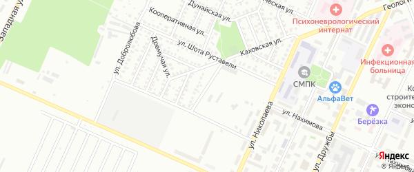 Московская улица на карте Стерлитамака с номерами домов