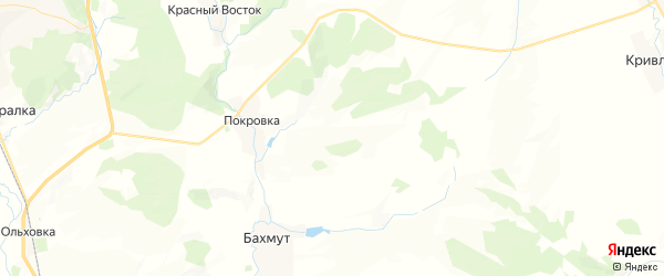 Карта Свободинского сельсовета республики Башкортостан с районами, улицами и номерами домов