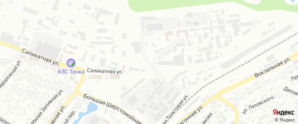Малая Силикатная улица на карте Уфы с номерами домов