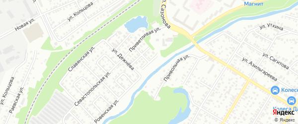 Улица Шамсутдинова на карте Стерлитамака с номерами домов
