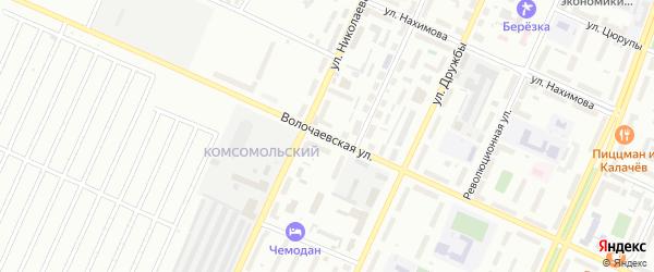 Волочаевская улица на карте Стерлитамака с номерами домов