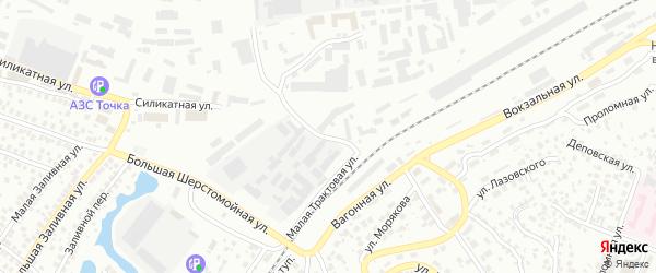 Кустовая улица на карте Уфы с номерами домов