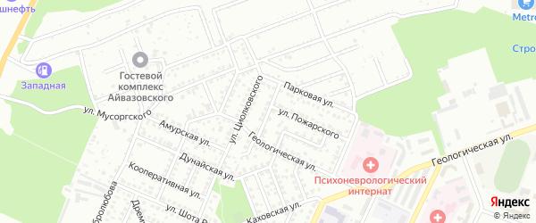 Башкирская улица на карте Стерлитамака с номерами домов