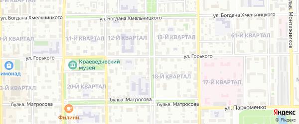 Улица Пушкина на карте Салавата с номерами домов