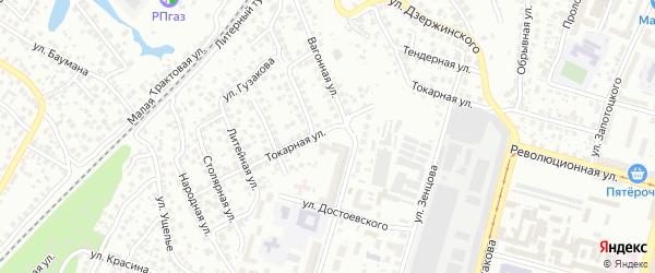 Лесная улица на карте Уфы с номерами домов