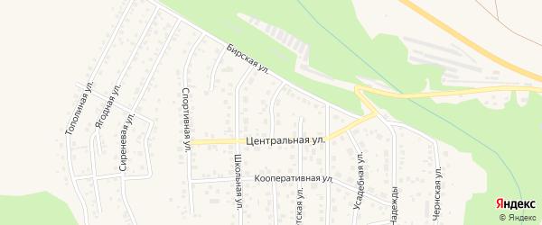 Ореховая улица на карте Благовещенска с номерами домов