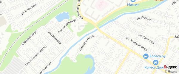 Привольная улица на карте Стерлитамака с номерами домов