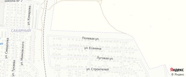 Полевая улица на карте Мелеуза с номерами домов