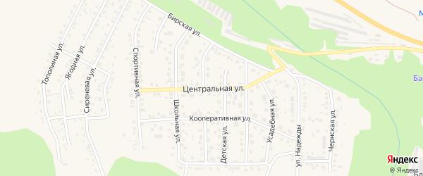 Центральная улица на карте Благовещенска с номерами домов