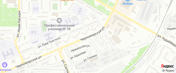 Улица Александра Невского на карте Стерлитамака с номерами домов