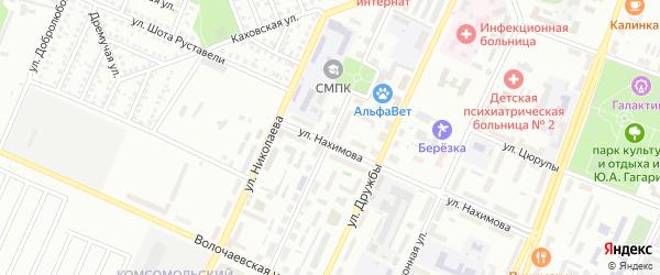 Улица Свердлова на карте Стерлитамака с номерами домов