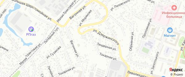 Слесарная улица на карте Уфы с номерами домов