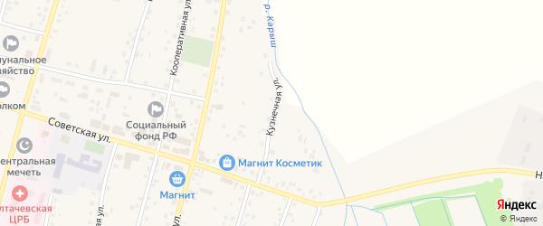 Кузнечная улица на карте села Старобалтачево с номерами домов