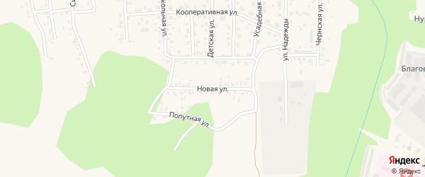 Новая улица на карте Благовещенска с номерами домов