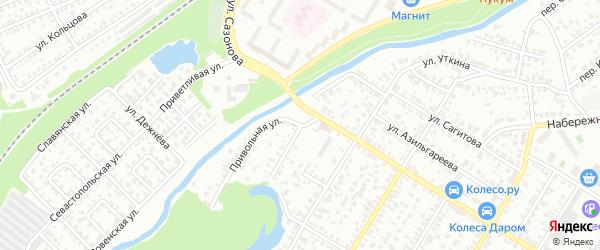 Улица Крупской на карте Стерлитамака с номерами домов