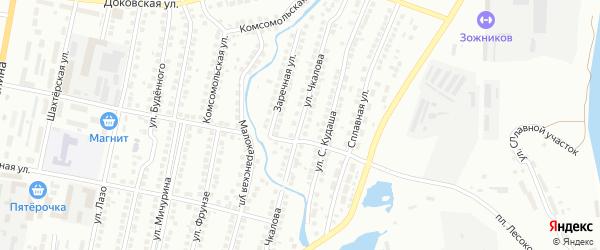 Улица Чкалова на карте Мелеуза с номерами домов