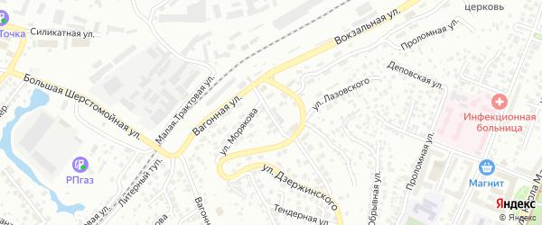 Песчаная улица на карте Уфы с номерами домов