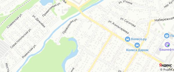 Инкубаторная улица на карте Стерлитамака с номерами домов