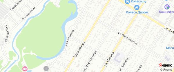 Трудовая улица на карте Стерлитамака с номерами домов