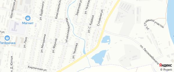 Улица С.Кудаша на карте Мелеуза с номерами домов
