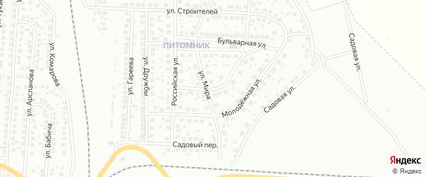 Школьный городок на карте Мелеуза с номерами домов
