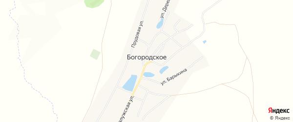 Карта Богородского села в Башкортостане с улицами и номерами домов