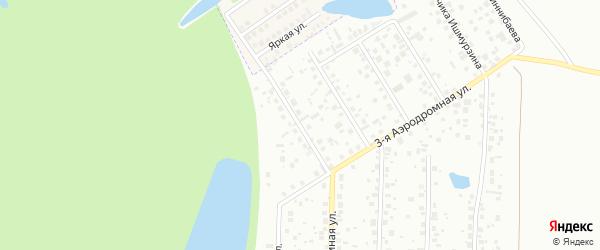 Улица Летчицы Сыртлановой на карте Уфы с номерами домов