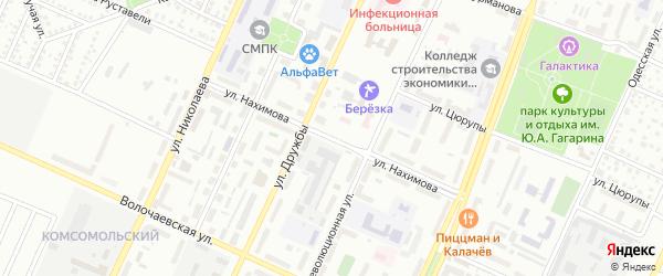 Улица Нахимова на карте Стерлитамака с номерами домов