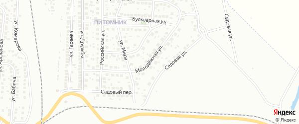 Молодежная улица на карте Мелеуза с номерами домов