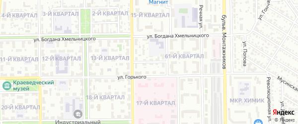 Первая улица на карте Салавата с номерами домов